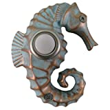 Company's Coming DBP-029 Seahorse Painted Doorbell Cover