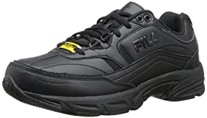 Fila Women's Memory Workshift Training Shoe,Black/Black/Black,7 W US