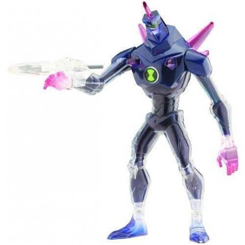 Picture of Bandai Ben 10 (Ten) 6 Inch DNA Alien Heroes Action Figure Chromastone (B001D907WS) (Ben 10 Action Figures)