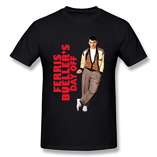 Ferris Bueller's Day Off Movie T-shirt for Men. XS to 2XL.