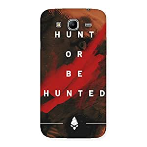 Gorgeous Hunted Multicolor Back Case Cover for Galaxy Mega 5.8