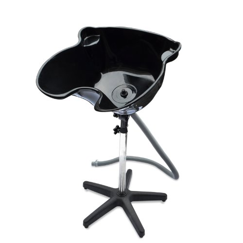 HomeSmith Portable Height Salon Deep Basin Adjustable Hair Wash / Treatment Bowl Shampoo Sink Home or Salon Tool Black (Hair Dryer Hotel Professional compare prices)