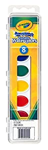 Crayola Washable Watercolors, 8 count (53-0525)