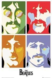 Beatles Sea Of Science Pop Art Poster 0000000000611