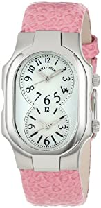 "Philip Stein Women's 1-NFMOP-CGCL ""Signature"" Stainless Steel Watch with Leather Band"