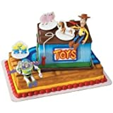 DecoPac Toy Story 3 Buzz, Woody and Friends Decoset