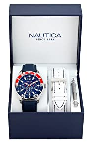 Nautica watches a14669g multi men