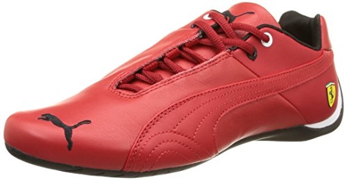 Puma Future Cat Leather SF -, Unisex-Erwachsene Sneakers, Rot (rosso corsa-rosso corsa 01), 43 EU (9 Erwachsene UK) thumbnail