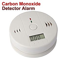 Mixed-Gadgets Home Security Safe CO Carbon Monoxide Smoke Gas Alarm Sensor LCD Monitor Detector by Mixed-Gadgets