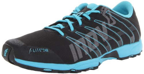 Inov-8 Women's F-Lite 249 Cross-Training Shoe,Raven/Blue,10 D US