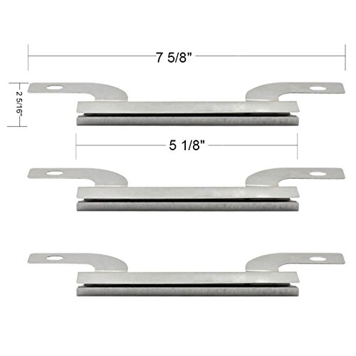 09423(3-Pack) Stainless Steel Crossover Tube Replacement For Select Gas Grill Models By Brinkmann And Others