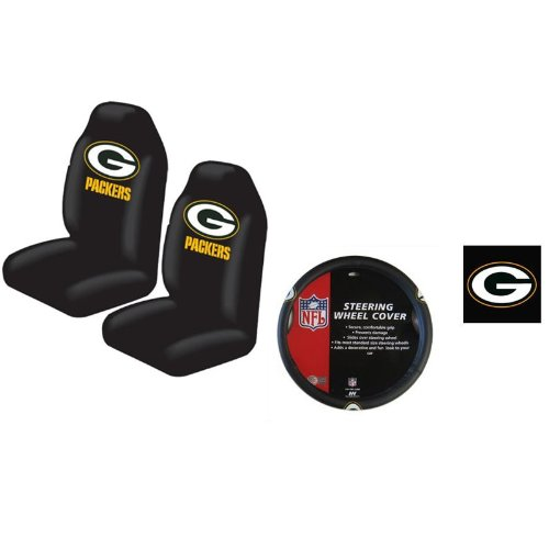 green bay packers seat covers price compare. Black Bedroom Furniture Sets. Home Design Ideas