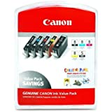 Canon CLI-8 Ink Cartridges Value Pack (5 Ink Tanks)