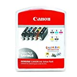 Canon CLI-8 Ink Cartridges Value Pa