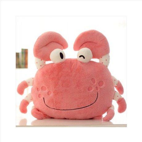 Creative Crab Kissen Plüsch Spielzeug Puppe Krebs Krabbe , 50 cm