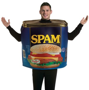 Spam Can Meat Adult Funny Licensed Halloween Costume