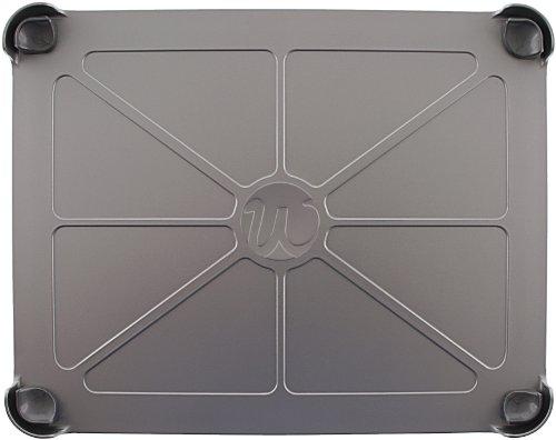 Woodford Design FPSI Kühlschrank Magnethalterung für Apple iPad silber