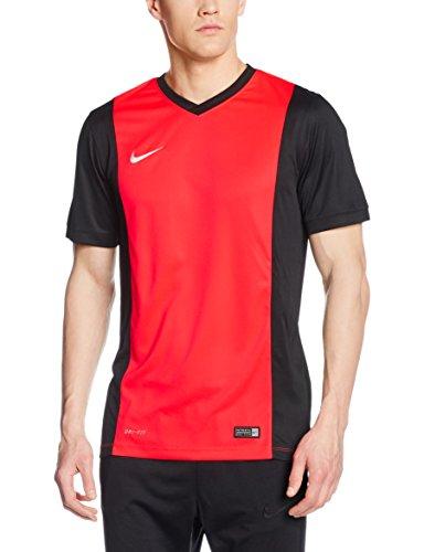 Nike–Maglia a manica corta da uomo Park Derby, Uomo, Jersey Park Derby, rosso/nero/bianco, M