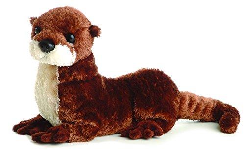 """Aurora Plush 12"""" American River Otter Flopsie - 1"""