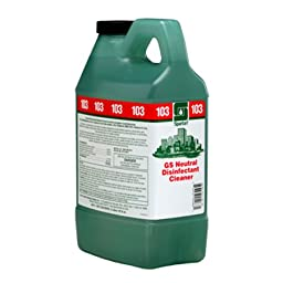 GS Neutral Disinfectant Cleaner 103 Clean On The Go Dispensed # 351302, 4-2Liter -(1 CASE)