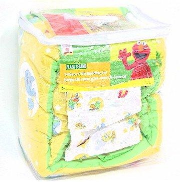 Sesame Street Babyking Elmo Amp Friends Three 3 Pc Crib