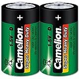 Camelion 10100220 Super heavy duty Batterien R20/ Mono/ 2er Pack Schrumpfverpackung