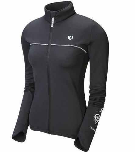 Buy Low Price Pearl iZUMi Women's Elite Thermal Long Sleeve Full Zip Jersey (B00283RTGA)