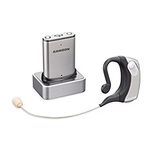 Samson SWAM2SESK-E4 Airline Micro Earset System Wireless Headset Microphone on Channel E4