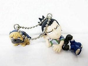 Naruto Keychain-Shikamaru with Pakkun