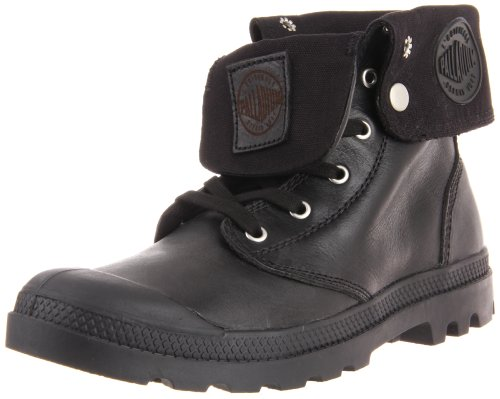 Palladium Men's Baggy Leather-M Black Walking Boot 02356-001-M 10 UK