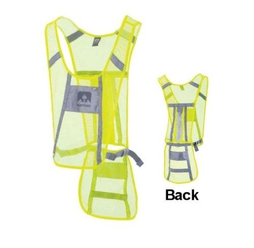 Nathan Led Cycling Vest, Hi-Viz Yellow