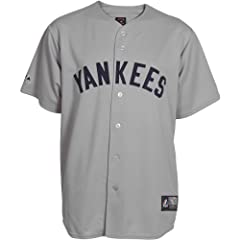 Majestic Athletic New York Yankees Replica Cooperstown 1927 Road Jersey by Majestic Athletic