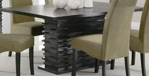 black pedestal dining room table black pedestal dining