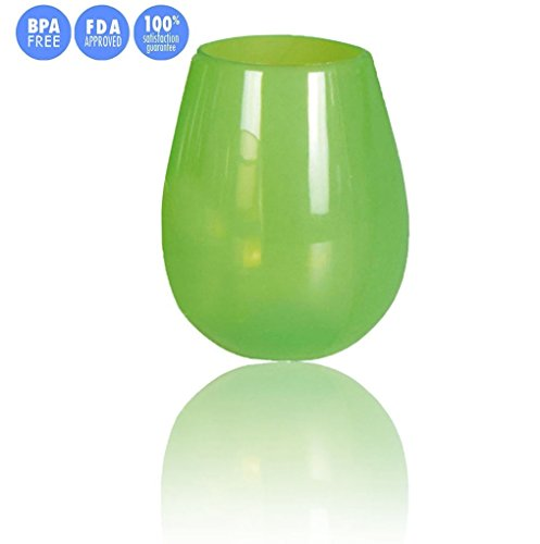jypc-1pc-premium-food-grade-clear-shatterproof-travel-mugs-reusable-silicone-wine-glasses-12-oz-gree