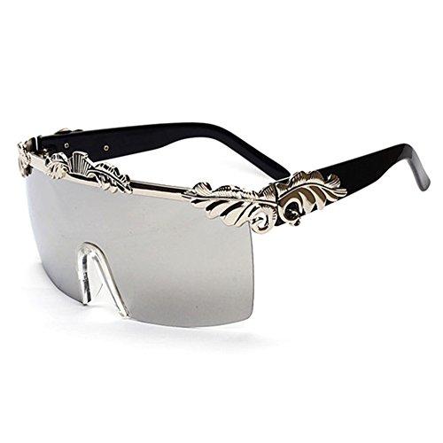 HelloKiti Women Domineering Personality With Chain Luxury Sunglasses(C2)