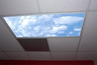 stratus clouds skypanels replacement fluorescent light diffuser. Black Bedroom Furniture Sets. Home Design Ideas