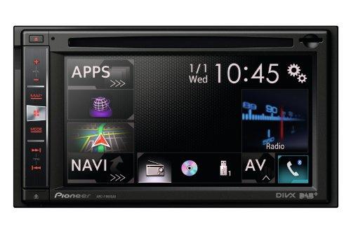 Pioneer AVIC-F960DAB Navigatore 2 DIN, 6,1 Pollici, DAB, Tastiera Estraibile Antifurto, Nero/Antracite