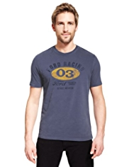Pure Cotton Ford Racing T-Shirt
