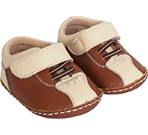 Pedoodles First Feet Collection: Brown Bowlers, 4-8 months
