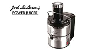 Jack Lalanne's Power Juicer Deluxe, Black and Chrome