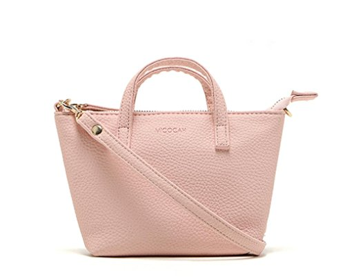 Borsetta Clode® Lady Fashion Women Hobo Borsa a Tracolla Del Messaggero Della Borsa Della Satchel Tote (Colour : Rosa)