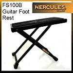 Hercules FS100B Large Foot Rest Plate for Comfortable and Solid Support from Hercules