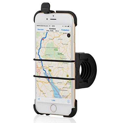 """Wicked Chili - Supporto per bicicletta e moto, per Apple iPhone 6 (4,7""""), nastro di sicurezza, QuickFix, Made in Germany"""