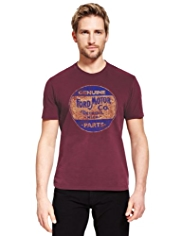 Pure Cotton Ford Motor T-Shirt