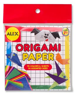 Origami Mini Squares by Alex - Buy Origami Mini Squares by Alex - Purchase Origami Mini Squares by Alex (Alex, Toys & Games,Categories,Arts & Crafts)