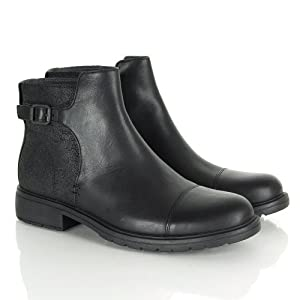 CAMPER womens 1900 LAND ANKLE Black Ankle boots 5