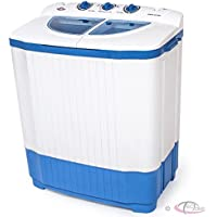portable washing machine twin tub for motorhome and caravn 6Kg wash x 3Kg spin