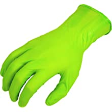 "Showa Best 9500PF N-DEX Free Ultimate Nitrile Glove, Powder Free, 11"" Length, 5.9 mils Thick"
