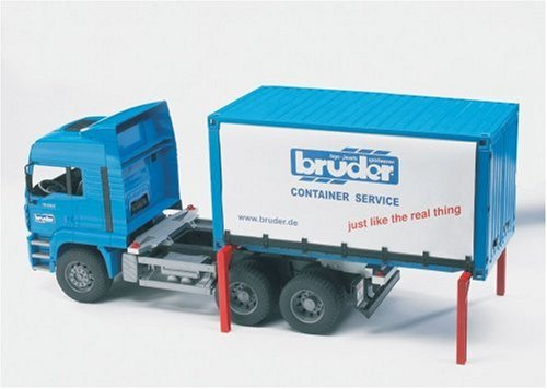 Buy MAN truck with tilt sided interchangeable container