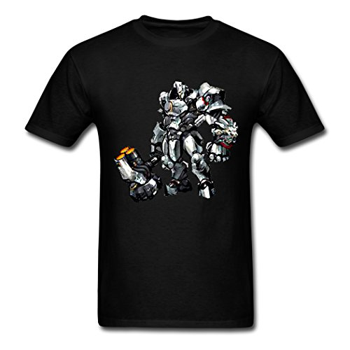 Mr.Potato 2016 Attractive Overwatch Reinardt Black Men's Clothing Large